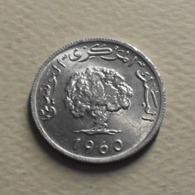 1960 - Tunisie - Tunisia - 1380 - 1 MILLIM - KM 280 - Tunisia