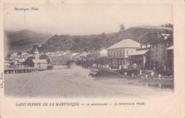 Martinique. Saint-Pierre. La Montagne Pelée. Non écrite. Précurseur. Tbe - Martinique