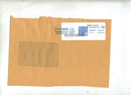 Lettre Flamme Frankit  Poste Prive Biber - [7] Repubblica Federale