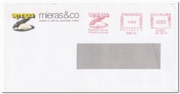 Nederland 1992, Mieras & Co, Mussel Preserves, Cockle Preserves - Marcophilie - EMA (Empreintes Machines)