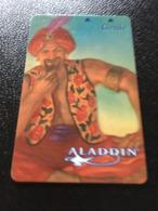 Hotelkarte Room Key Keycard Clef De Hotel Tarjeta Hotel   LAS VEGAS  ALADDIN GENIE - Telefonkarten