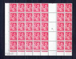 FRANCE LOT DE 35 TIMBRES DE 1944 N 654 NEUF ** - Nuovi