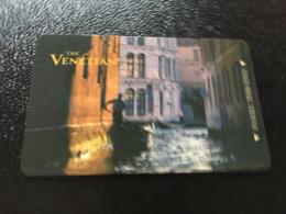 Hotelkarte Room Key Keycard Clef De Hotel Tarjeta Hotel   LAS VEGAS  THE VENETIAN - Telefonkarten