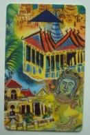 Carte Magnétique De L'Hôtel Intercontinental De Phnom Penh (Cambodge). - Cartes D'hotel