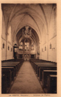 La Cropte Belle Vue Intérieur De L'Eglise St-Pierre Et St-Paul - Autres Communes