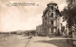 9550-2019     ST JEAN DE LUZ   VILLA GERMAINE ET PROMENADE DE LA JETEE - Saint Jean De Luz