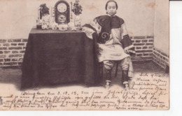 ASIE CHINE FRAU 1903 TRES ANIMÉES CPA BON ÉTAT - Chine