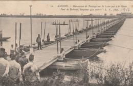 Rare Cpa Angers Manoeuvres De Pontage - 1914-18