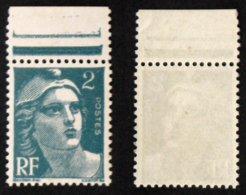 N° 713b 2F Gandon Sans Le F Neuf N** TB Cote 14€ - 1945-54 Marianne De Gandon