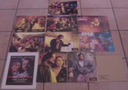 LOT 9 PHOTOS EXPLOITATION FILM BARFLY Barbet SCHROEDER Mickey ROURKE Faye DUNAWAY 1987 + PLAQUETTE - Photographs