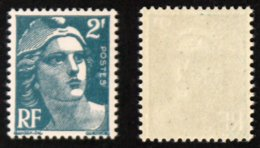 """N° 713n 2F Gandon 2 Et RF """"gros"""" Neuf N** TB Cote 15€ - 1945-54 Marianne De Gandon"""