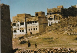 A View Of A Tipical Building In Almahweet , Yemen - Yemen