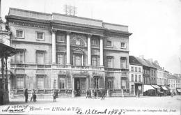 Alost Aalst - L'Hôtel De Ville (animation, Edit Ve Cornelis 1906) - Aalst