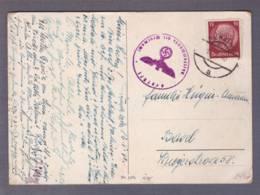 "Carte A Vue ""chalet "" Obl. Nenzing 13.05.1940 -> Basel - Zensur/censored/censure E - Alemania"