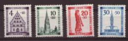 1949- Baden - N°38A à 41A- Neuf Sans Charnières ** - Französische Zone