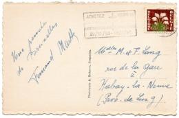 N° 835 Antituberculeux - Fleur - Sur CV Avec Flamme Concordante - Covers & Documents