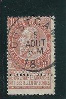 OCB 57 - Afstempeling OOSTCAMP - COBA 8 - 1893-1900 Fine Barbe
