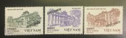 3 Kinds Of Viet Nam Vietnam MNH Perf, Imperf & Specimen Stamps Issued On 1st Nov 2019 : Vietnamese Architecture (Ms1116) - Vietnam