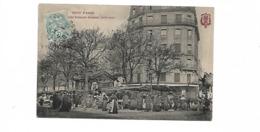 SERIE TOUT PARIS EN ROUGE MARCHE EDGAR QUINET - Distretto: 14