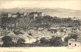 72272031 Granada Andalucia Vista General De La Alhambra Granada - Spain