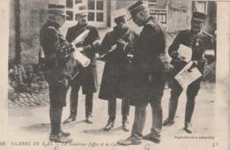 Rare Cpa Le Général Joffre Et De Castelneau - 1914-18