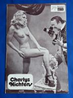 """ELKE BOLTENHAGEN (nude/nackt) Im Erotik-Film """"Charlys Nichten"""" # NFP-Filmprogramm Von 1974 # [19-1719] - Films & TV"""