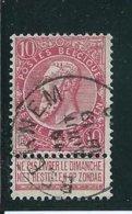 OCB 58 - Afstempeling BEERNEM - COBA 8 - 1893-1900 Schmaler Bart