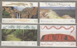 AUSTRALIA 1993 Landscape Mi 1335-1338 MNH (**) #24895 - 1990-99 Elizabeth II