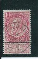 OCB 58 - Afstempeling CRUYSHAUTEM  - COBA 8 - 1893-1900 Fine Barbe