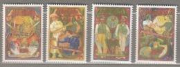 AUSTRALIA 1993 Workers  Mi 1344-1347 MNH (**) #24902 - Neufs