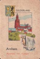 1 Oude Speelkaart Uit Steden Kwartet : Gelderland : Arnhem - Cartes à Jouer
