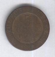 5 Centimes Allemagne Westphalie 1808 - [ 2] 1871-1918: Deutsches Kaiserreich