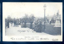 Cpa Du 75 Paris Vécu -- Aux Tuileries  LZ90 - Arrondissement: 01
