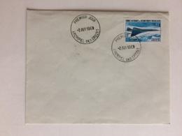 TAAF Enveloppe Premier Jour Concorde 1969 - FDC