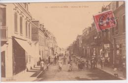 80 CAYEUX Sur MER Avenue De La Gare ,façade Librairie Papeterie ,enseigne Pianos Phonographe ,commerces - Cayeux Sur Mer