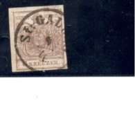 AUSTRIA1850: Michel4YIII Used - 1850-1918 Impero