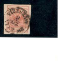 LOMBARDY-VENETIA 1850: Michel3YIII Used - Lombardy-Venetia