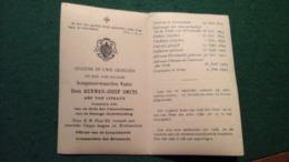 ABT    WESTMALLE     DOM HERMAN JOZEF SMETS   OVERLEDEN TE ROME 4 JAN. 1943 - Antwerpen