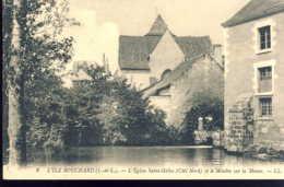 Ile Bouchard  L'eglise Saint Gilles - L'Île-Bouchard