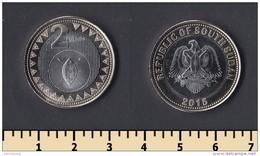 South Sudan 2 Pounds 2015 - Coins
