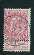 OCB 58 - Afstempeling TROIS-PONTS - COBA 8 - 1893-1900 Fine Barbe