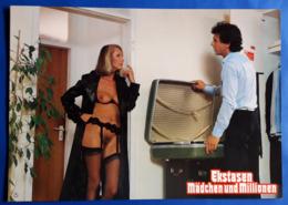 """Erotik-Kino-Film """"Ekstasen, Mädchen Und Millionen"""" (nude - Woman - Nackt) # Original Altes Kinoaushangfoto # [19-538] - Fotos"""
