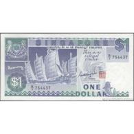 TWN - SINGAPORE 18a - 1 Dollar 1987 Prefix B/3 UNC - Singapore