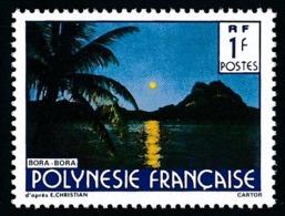 POLYNESIE 1991 - Yv. 373A **   Cote= 12,20 EUR - Paysage (Nom Christian En Plus Grand)  ..Réf.POL24593 - Polinesia Francese