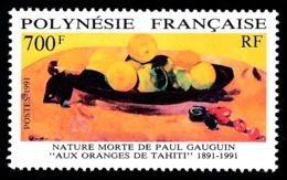 POLYNESIE 1991 - Yv. 385 **   Faciale= 5,88 EUR - Nature Morte De Paul Gauguin  ..Réf.POL24602 - Polinesia Francese