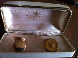 """Bijouterie DAUPHIN PARIS """"Boutons De Manchettes En Plaqué OR - Juwelen & Horloges"""