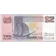 TWN - SINGAPORE 28 - 2 Dollars 1992 Prefix HK UNC - Singapore