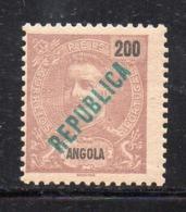 Y270 - ANGOLA PORTOGHESE 1911 , Yvert N. 99  **  MNH (2380A) - Angola