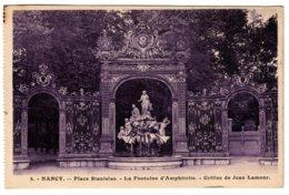 NANCY - La Fontaine D'Amphitrite - Nancy