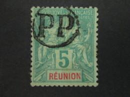 REUNION Belle Oblitération PP Timbre COLONIES FRANCAISES Stamp FRANCE - Reunion Island (1852-1975)